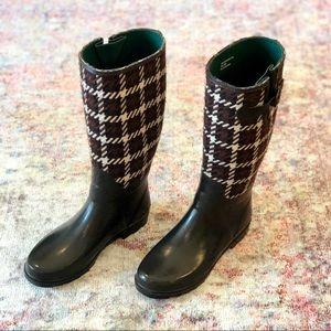 Banana Republic Shoes - Banana Republic Houndstooth Rain Boots